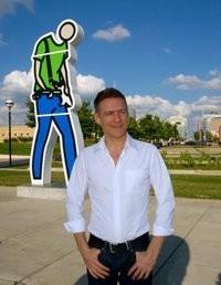 Rzeźba Bryana w Indianapolis