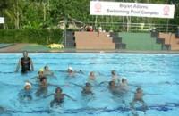 Kompleks basenów na Sri Lance